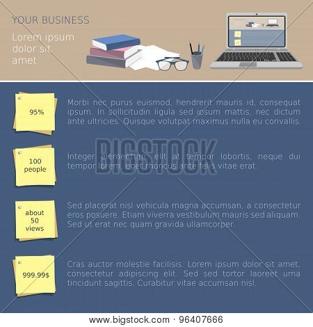 Business office template