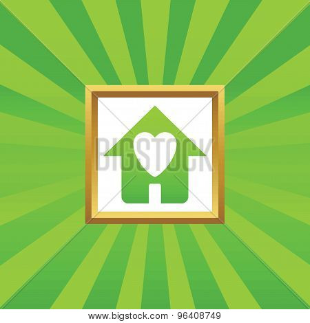 Beloved house picture icon