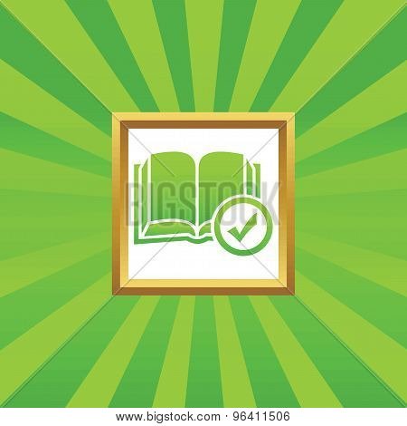 Select book picture icon