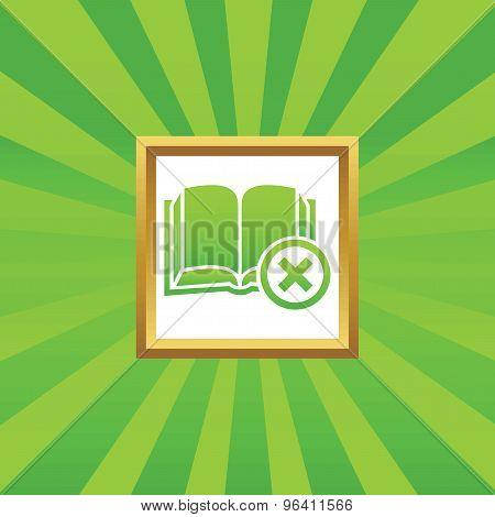 Remove book picture icon