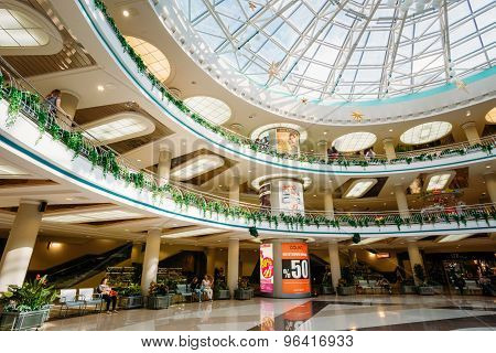 Stolitsa is a major shopping center in Minsk, Belarus