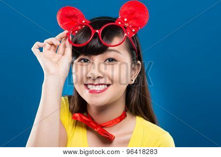 Happy Vietnamese Girl