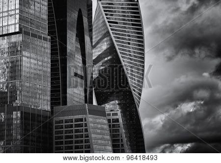 Moscow International Business Center, Moscow-city .