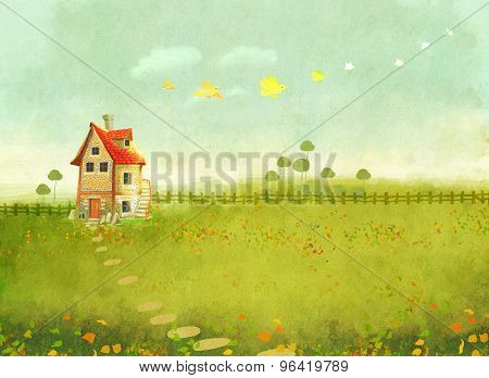 village house Poster