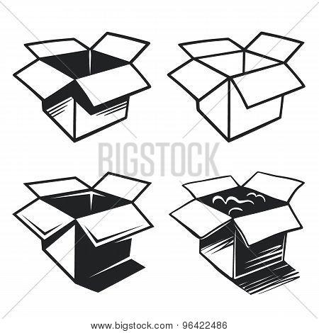 Set Of Box Icons