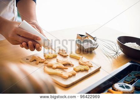Glazing Cookies