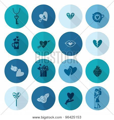 Happy Valentines Day Icons
