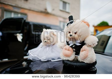 Funny Soft Toys Bears Wedding