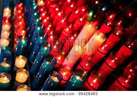 Angled Candles Montserrat