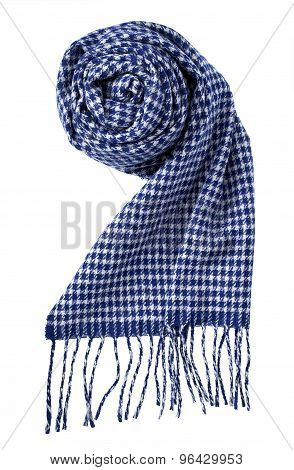 Scarf Isolated On White. With A Clipping Path