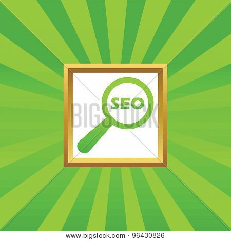 SEO search picture icon