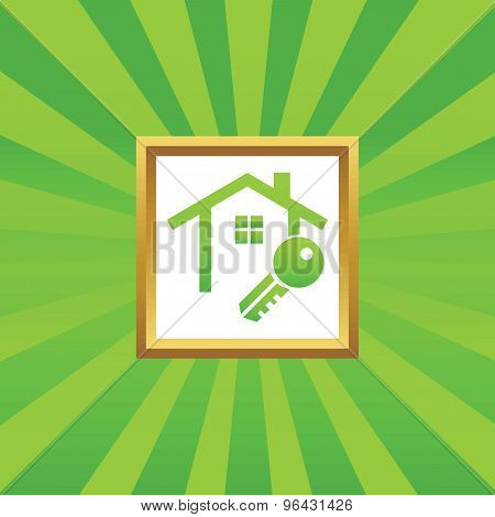 House key picture icon