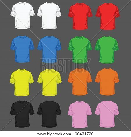 Set of t-shirt