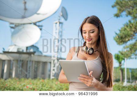 Telecom Lady.