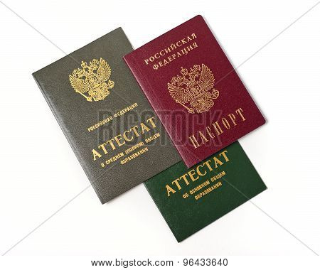 Russian documents for admission to the UNIVERSITY