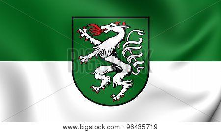 Flag Of Steyr, Austria.