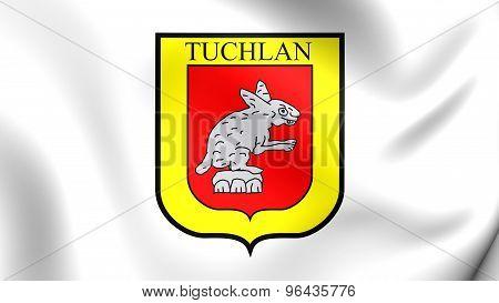 Flag Of Tuxtla Gutierrez, Mexico.