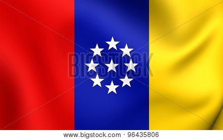 United States Of New Granada Flag