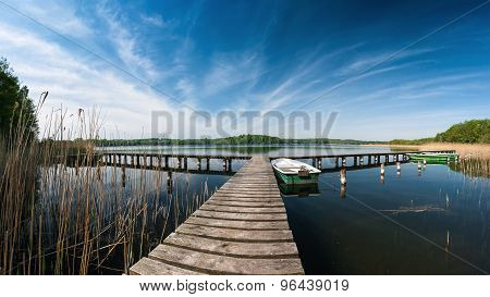 Landing Stage In Germany