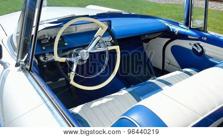 Classic Lincoln Car Interior