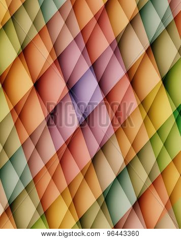 Colorful abstract background with mosaic pattern. Vector illustration