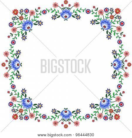 Folk pattern flowers-4