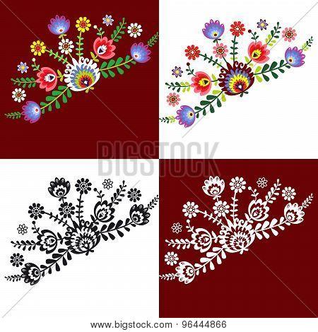 Folk pattern flowers-6