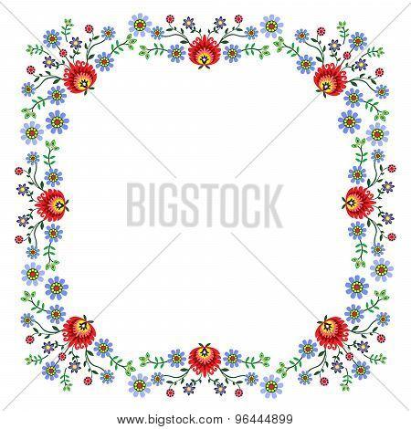 Folk pattern flowers-8