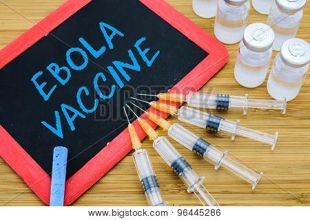 Ebola Vaccination Concept