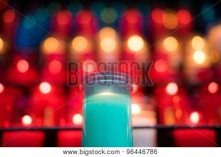 Blue Candle Montserrat