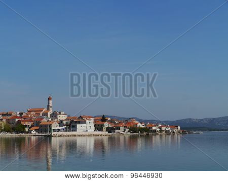 The Croatian village Betina