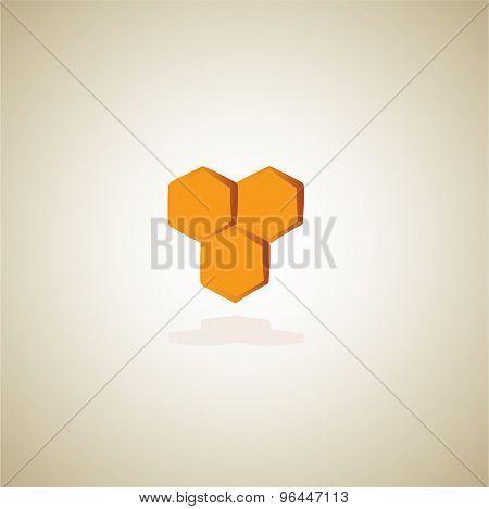 honey comb icon