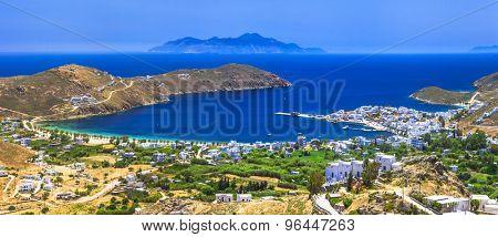 panoramic view of beautiful Serifos island, Greece (Cyclades)