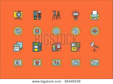 Elements of Photo Processing Equipment Items