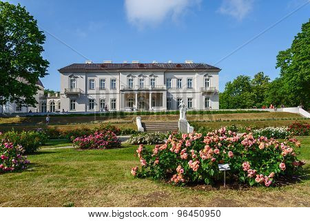 Amber Museum, A Rose Garden, Palanga, Lithuania