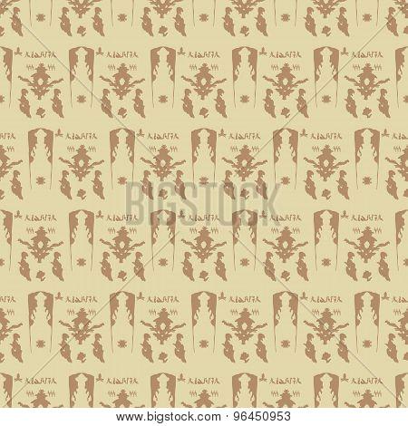 Ornamental Arabic Seamless Pattern.