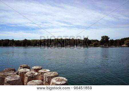 Harbor Point Seen From Municipal Marina