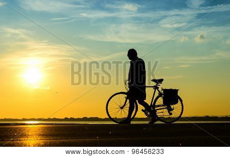 People With Bike
