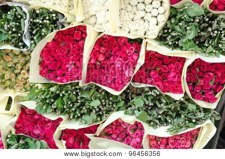 Bunch Of Rose