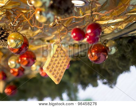 Wafer Decoration Christmas Market