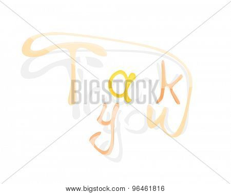 Welcome word, drawn lettering typographic design element. Hand lettering, handmade calligraphy isolated