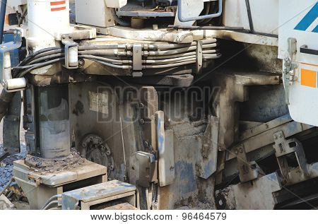 Details of Cold milling machine Wirtgen W1000F