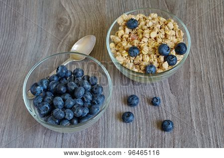 Cornflakes And Blueberry