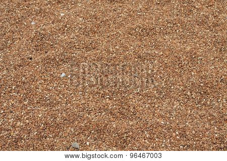Small rocks pea gravel