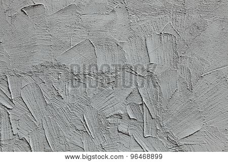 Grey stucco wall. Background texture.