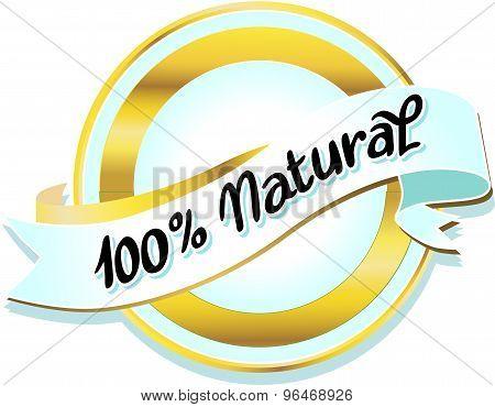 Natural Label - Vector