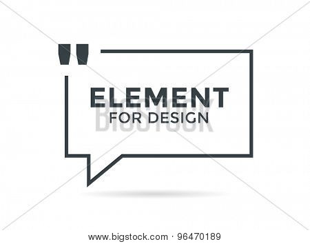 nspirational quote. Motivation, inspiration, quote and note. Vector stock element for design