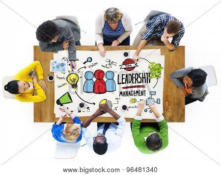 Diversity People Leadership Management Communication Meeting Concept
