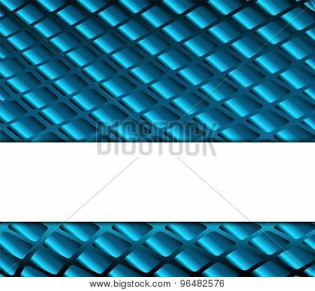 Grid blue background with place for text