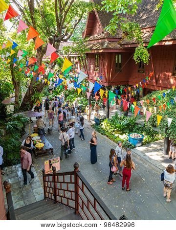 Jim Thompson Museum in Bangkok Thailand